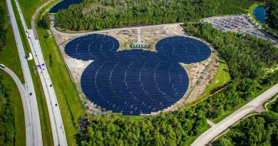 Disney constrói usina solar gigantesca para reduzir emissões em 50% até 2020
