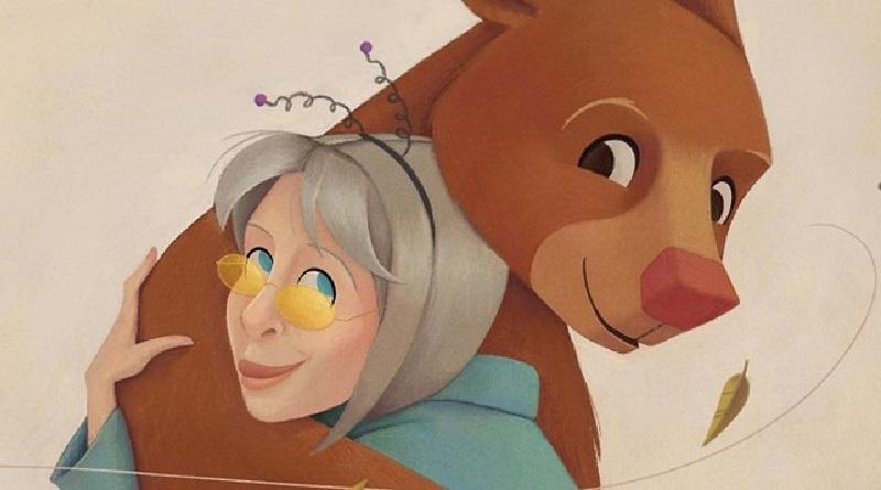 Em seu primeiro livro infantil, Rita Lee conta a emocionante história da ursa Rowena