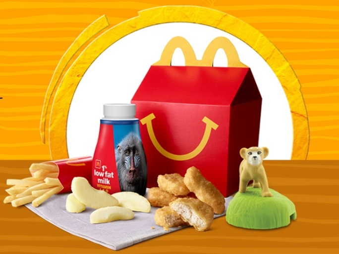 Irmãs lançam campanha contra brinquedos de plástico do McDonald's e Burger King