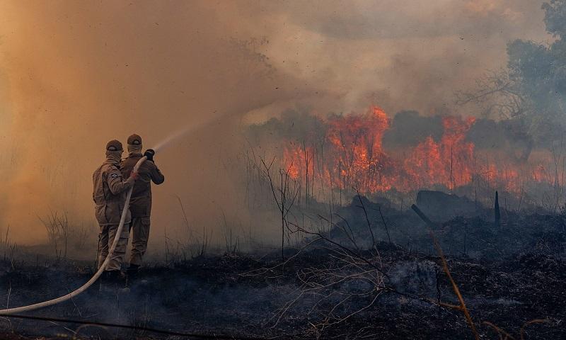 Chile e Reino Unido ajudarão no combate às queimadas da Amazônia
