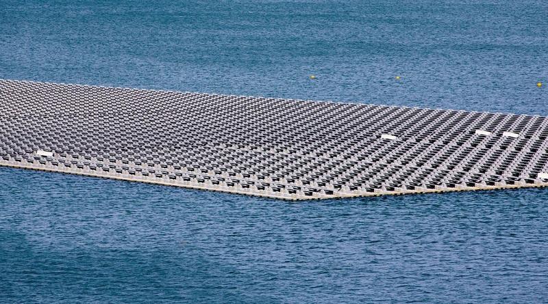 Entra em operação a primeira usina solar flutuante do Brasil