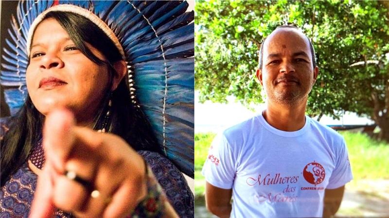 Guajajara e Carlinhos dos Santos recebem prêmio da União Internacional pela Conservação da Natureza