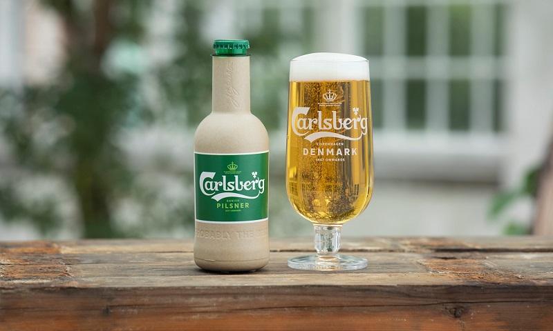 Sabe a cerveja estupidamente gelada? Em breve poderá vir em garrafa de fibra de papel 100% reciclável