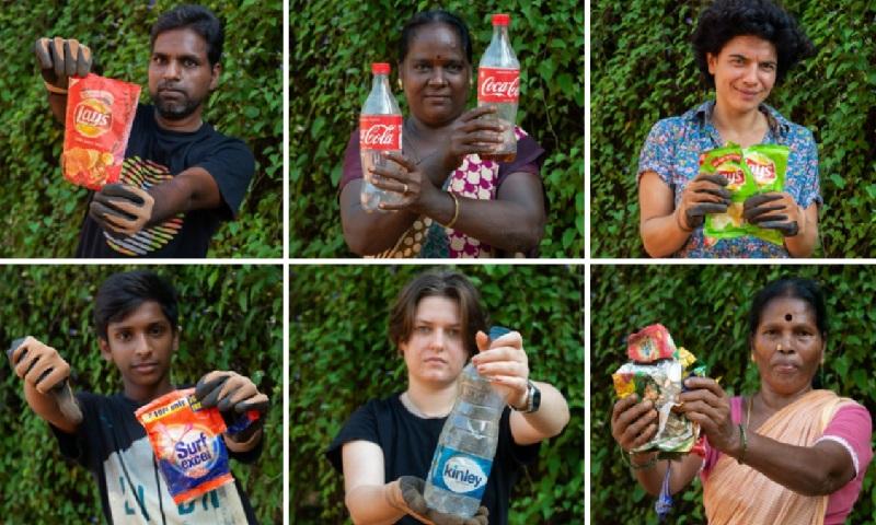 Coca, Pepsi e Nestlé, estão sendo processadas pelo descarte de pástico