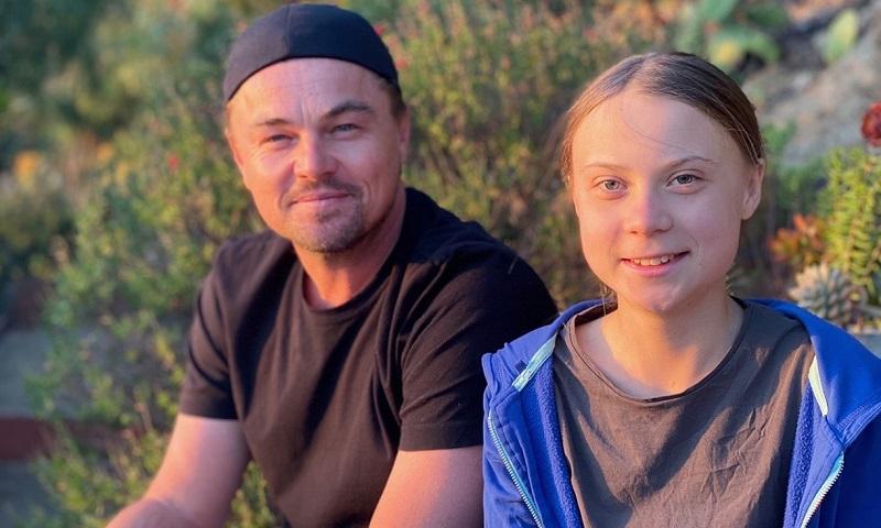 Greta e DiCaprio: o encontro de dois guerreiros pelo clima