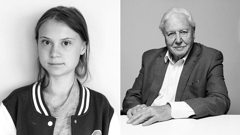 """""""Ela conseguiu fazer o que muitos de nós tentamos e não conseguimos nos últimos 20 anos"""", diz o maior naturalista britânico sobre Greta Thunberg"""