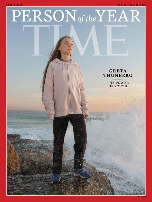 Greta Thunberg é eleita 'Personalidade do Ano' pela Time