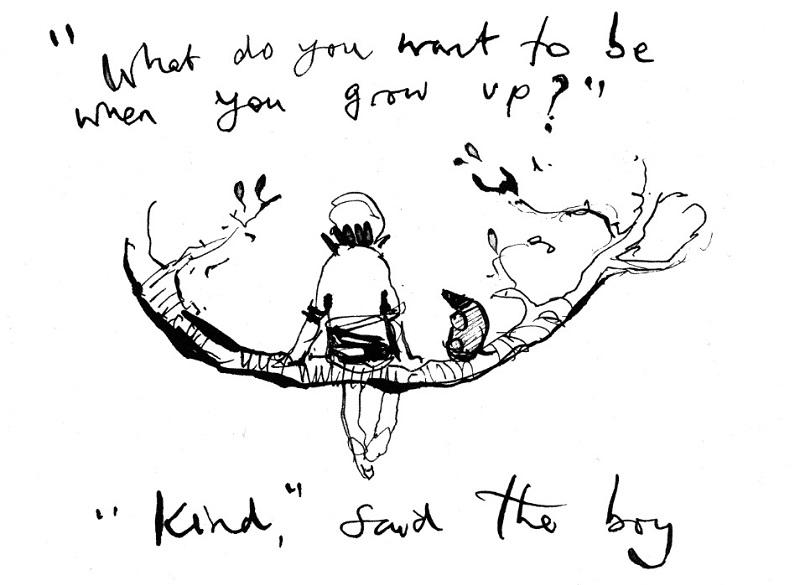 Como a simplicidade e a gentileza das ilustrações de Charlie Mackesy conquistaram o coração de leitores