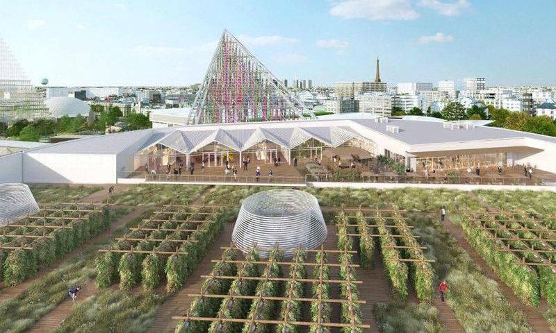 Paris ganhará a maior fazenda urbana (e suspensa) da Europa em 2020
