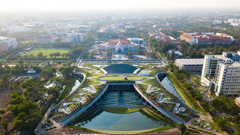 Bangkok ganha a maior fazenda urbana da Ásia: além de produzir alimentos, ela vai conter a água da chuva e enchentes