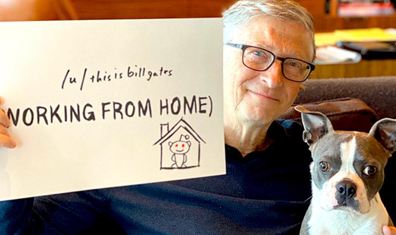 Bill Gates e sua fundação contra o coronavírus