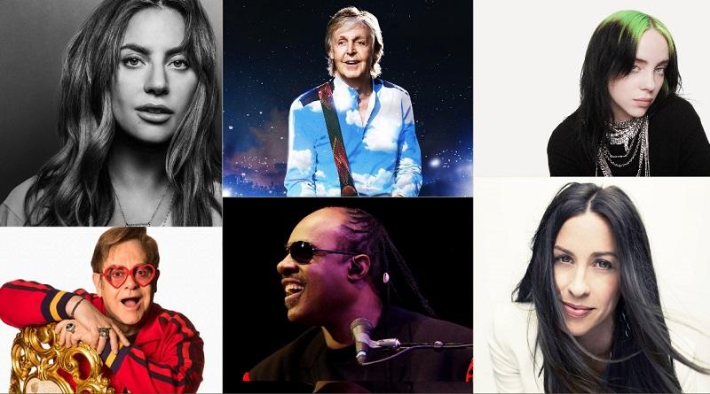 Grandes nomes da música mundial farão megashow pela internet para arrecadar fundos para o combate ao coronavírus