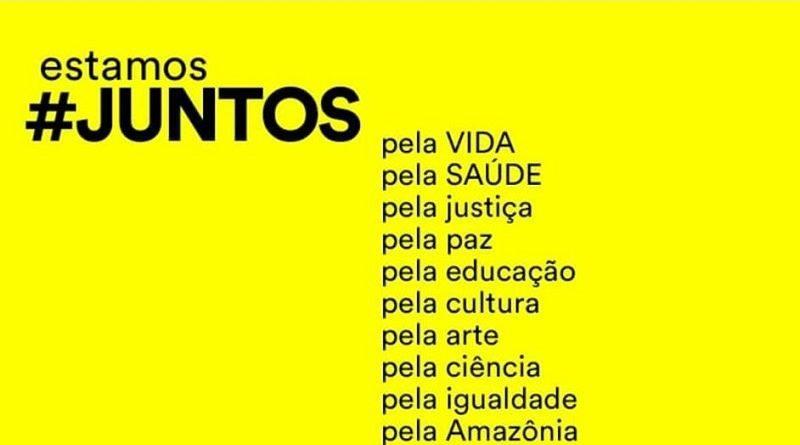 #Juntos: manifesto reúne assinaturas de milhares de brasileiros a favor da vida, da liberdade, da democracia e do Brasil