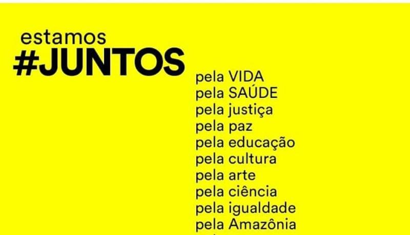 #Juntos: manifesto reúne assinaturas de milhares de brasileiros a favor da vida, da liberdade e da democracia