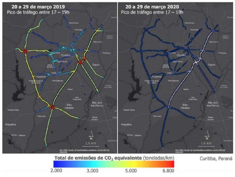 Melhora na qualidade do ar em diversas cidades do mundo durante a pandemia é chamado à mudança de hábitos