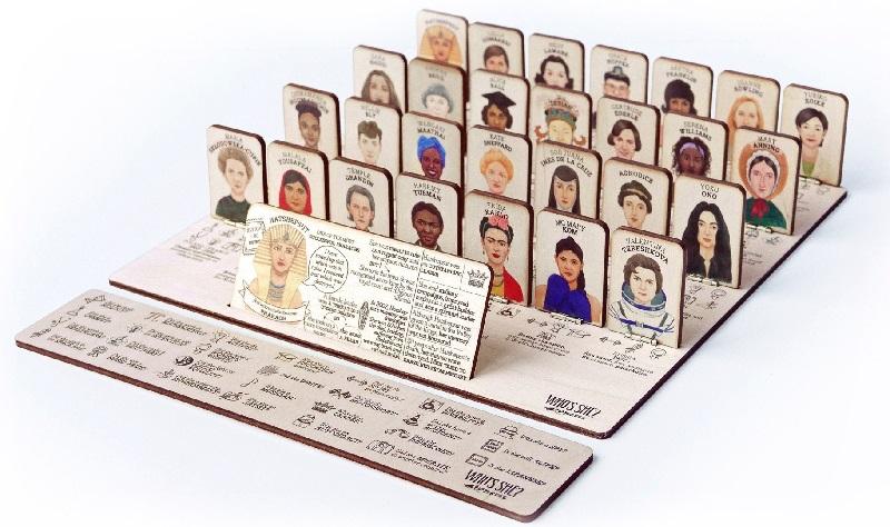 'Quem é Ela?': o jogo de tabuleiro sobre mulheres extraordinárias que mudaram o mundo