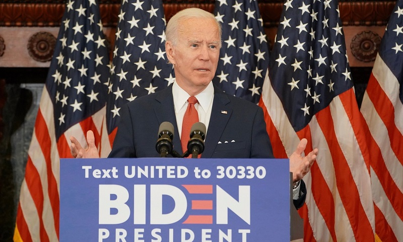 Joe Biden, candidato à presidência dos Estados Unidos, anuncia plano de U$ 2 trilhões para combater a crise climática