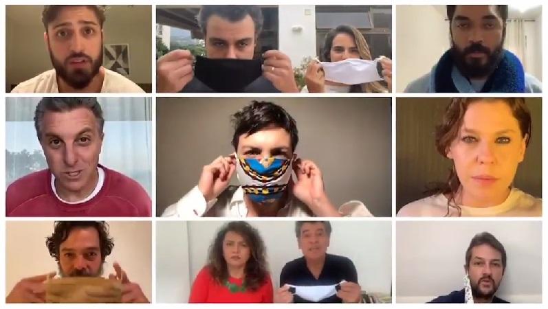 Idealizada por Fernanda Montenegro, campanha-manifesto 'Por #AmorÀVida reúne artistas que clamam pelo uso da máscara