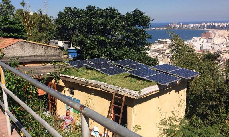 Projeto carioca que leva energia solar para favelas do Rio é finalista em prêmio global da ONU