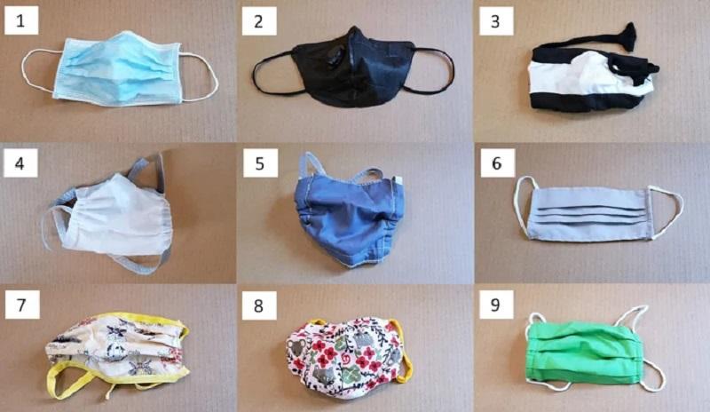 Estudo científico compara eficácia de diferentes modelos de máscaras de proteção