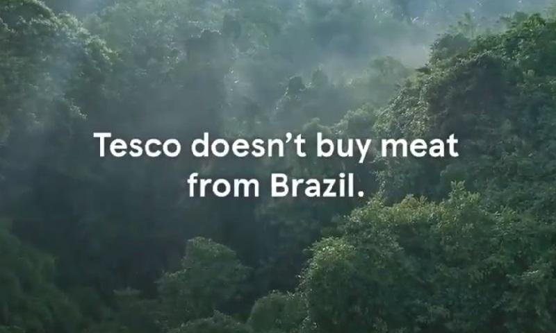 Uma das maiores redes de supermercado do mundo, a britânica Tesco, produz vídeo afirmando que não compra carne do Brasil por causa do desmatamento