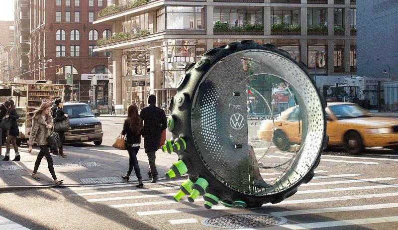 Designer brasileiro ganha prêmio mundial com projeto de mobilidade urbana inovador e futurista