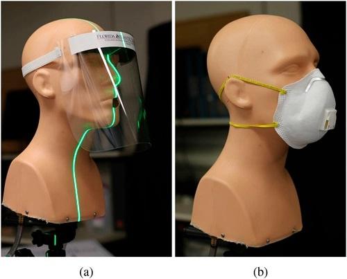 Estudo alerta que máscaras com válvulas e viseiras faciais são menos eficientes para evitar transmissão do coronavírus