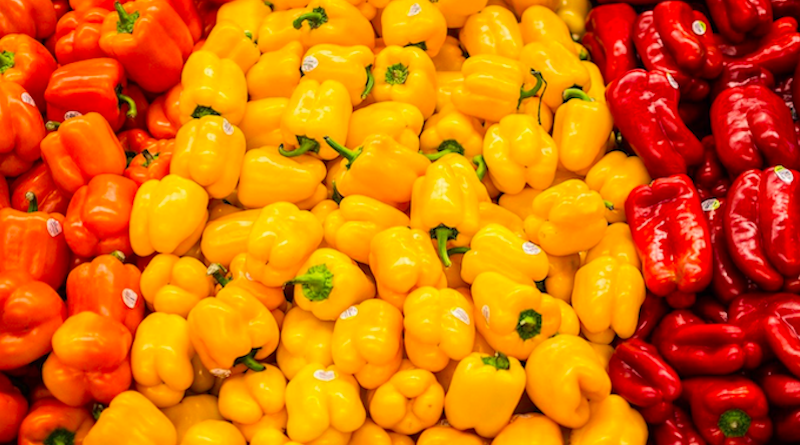 Pimentão, alface e laranja estão entre os 14 alimentos campeões de agrotóxicos acima do limite permitido por lei