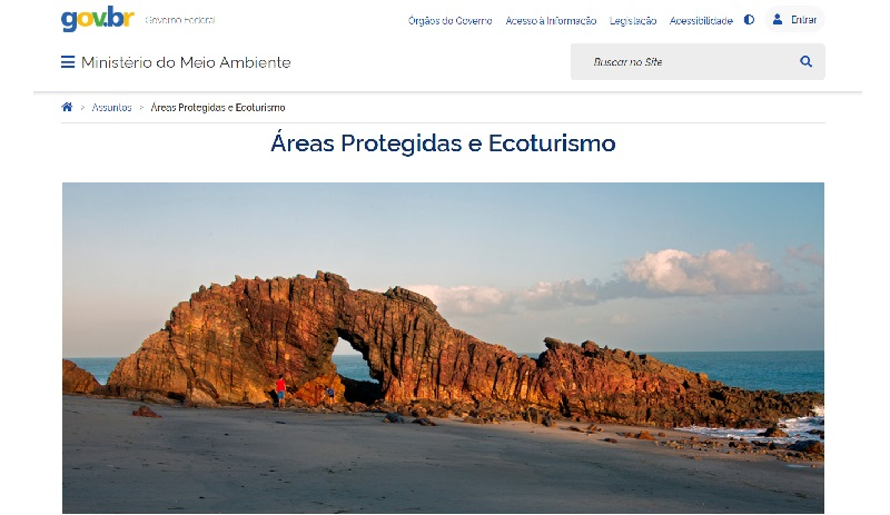 Em novo site, Ministério do Meio Ambiente suprime dados sobre áreas protegidas brasileiras