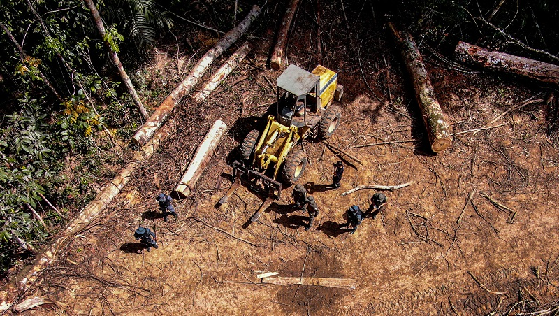 Amazônia tem aumento de 14% no desmatamento em dezembro e 2020 segundo pior índice de destruição dos últimos cinco anos