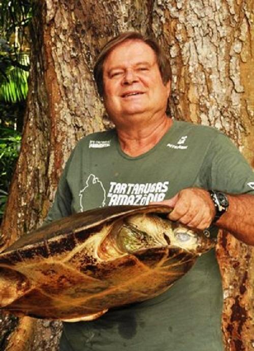 Morre, em Manaus, Richard Vogt, um dos maiores pesquisadores do mundo sobre tartarugas