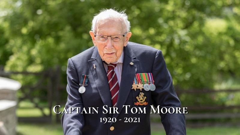 Morre de COVID Tom Moore: o inglês de 100 anos que inspirou e comoveu o mundo