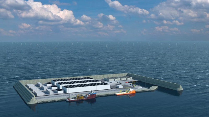 Dinamarca terá hub de energia eólica com capacidade para atender 10 milhões de residências na Europa