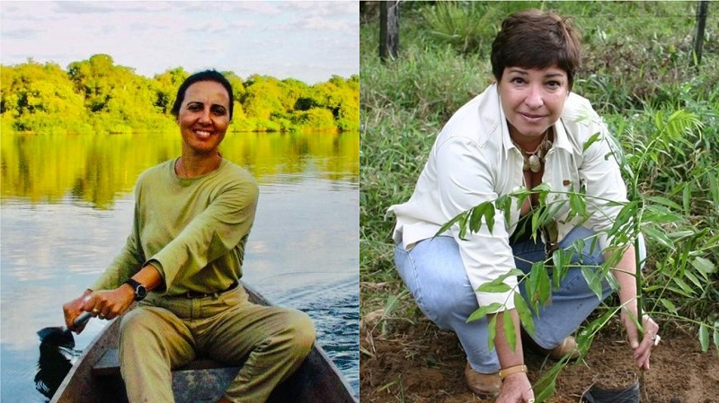 Duas brasileiras recebem o mais importante prêmio internacional em reconhecimento à proteção de áreas naturais