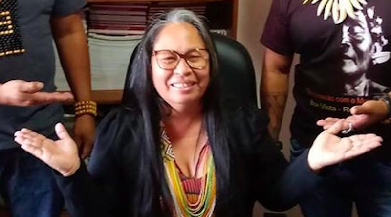 """Sinéia do Vale Wapichana declara na Cúpula do Clima: """"Os povos indígenas são doutores em meio ambiente"""""""