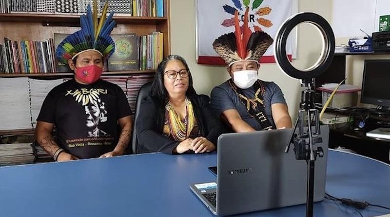 """Sinéia do Vale Wapichana declara na Cúpula do Clima """"Os povos indígenas são doutores em meio ambiente"""""""