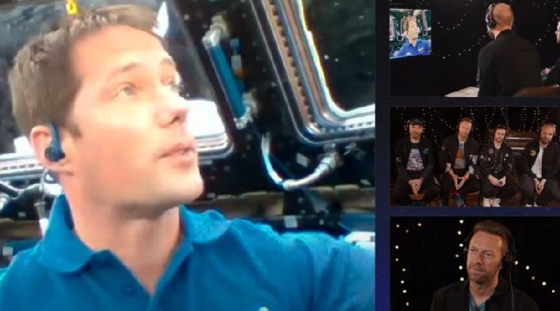 Do espaço, astronauta envia mensagem linda sobre o planeta no lançamento de novo clipe do Coldplay