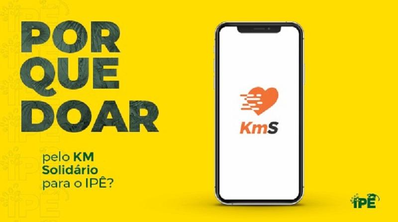 Cuide de sua saúde e do meio ambiente: baixe já o app gratuito KM Solidário e ajude o Instituto Ipê