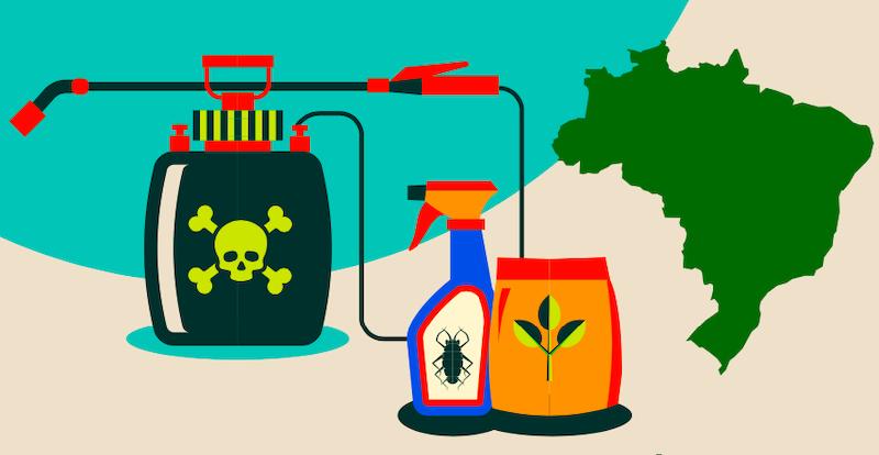 Estudo inédito identifica agrotóxicos em produtos ultraprocessados como cereais matinais, bolachas água e sal, bisnaguinhas...