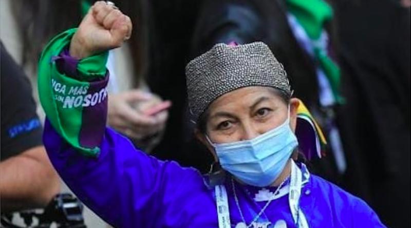 Professora indígena mapuche é eleita presidente da Assembleia Constituinte do Chile