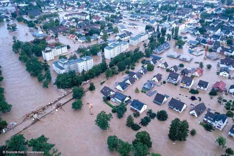 Presidente alemão 'culpa' mudanças climáticas pelas chuvas intensas no país