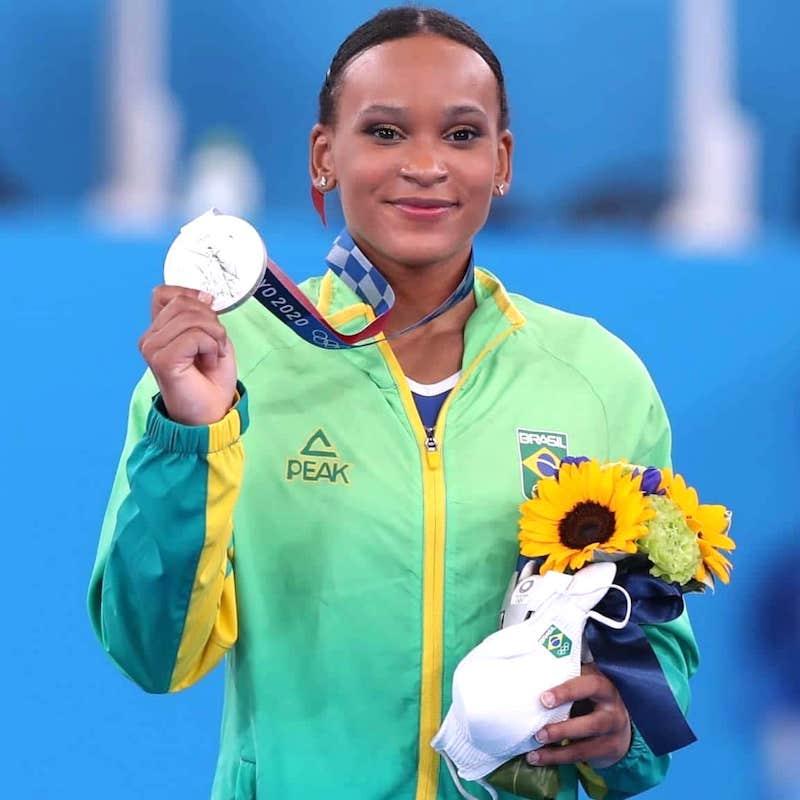 Rebeca Andrade é a primeira brasileira a conquistar uma medalha na ginástica artística nos Jogos Olímpicos