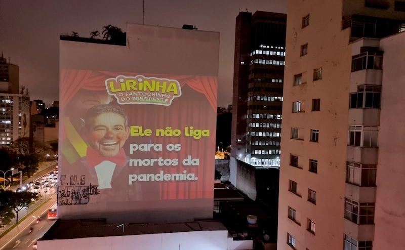 Arthur Lira é criticado em projeções públicas por facilitar a destruição do meio ambiente e dos povos indígenas
