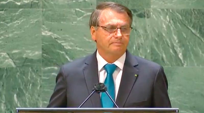 """Bolsonaro mente na Assembleia da ONU: """"qual país do mundo tem uma política de preservação ambiental como a nossa?"""""""