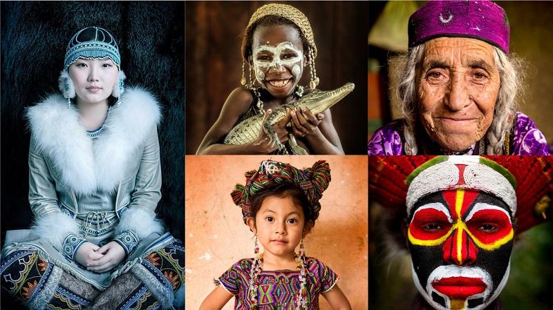 Faces do Mundo: exposição retrata a incrível e belíssima diversidade dos povos indígenas ao redor do planeta/Fotos: divulgação United Nations/Alexander Khimushin