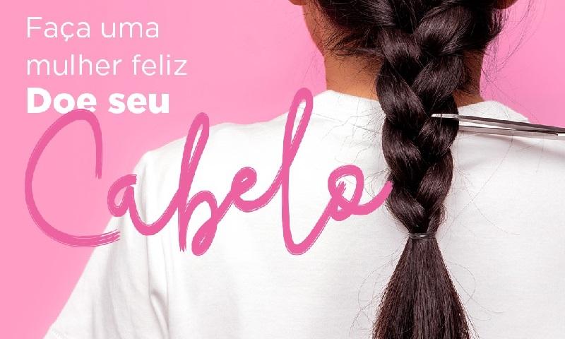 Neste Outubro Rosa, farmácias de cinco cidades brasileiras vão receber doação de cabelo para confecção de perucas